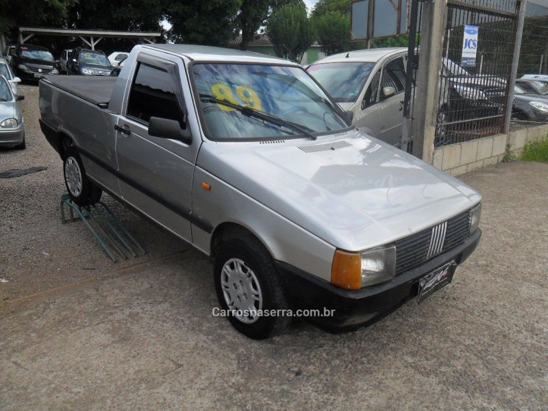 fiorino 1.5 lx pick up cs 8v gasolina 2p manual 1989 caxias do sul
