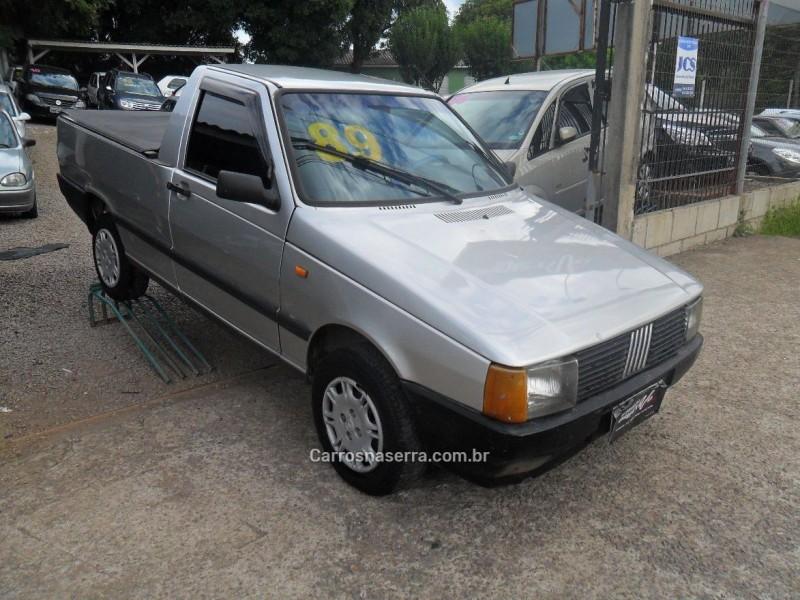 fiorino 1.5 lx pick up cs 8v gasolina 2p manual 1989 caxias do sul