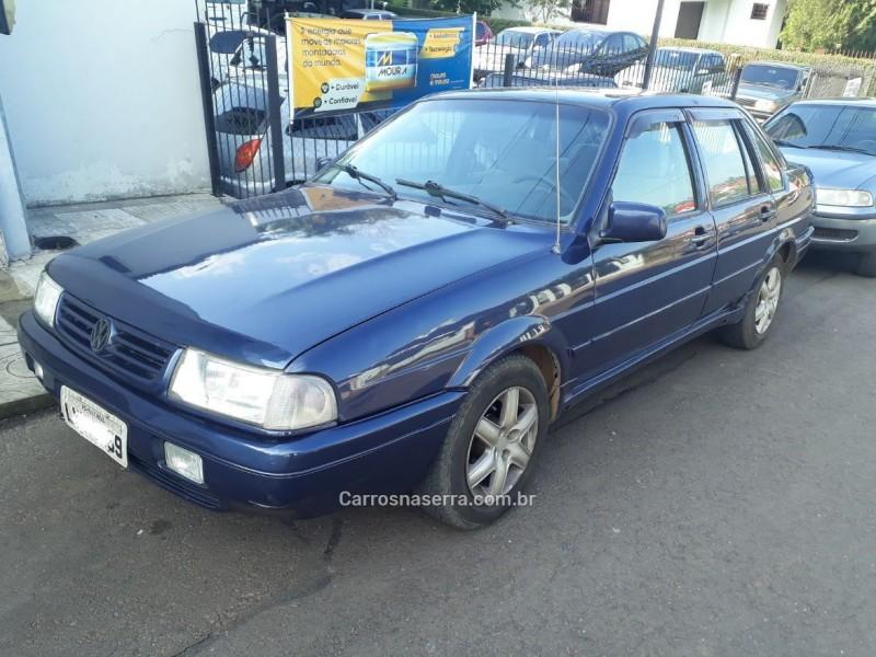 santana 2.0 mi 8v gasolina 4p manual 1996 bom principio