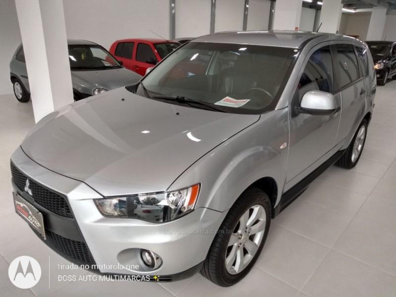 outlander 2.4 4x4 16v gasolina 4p automatico 2010 caxias do sul