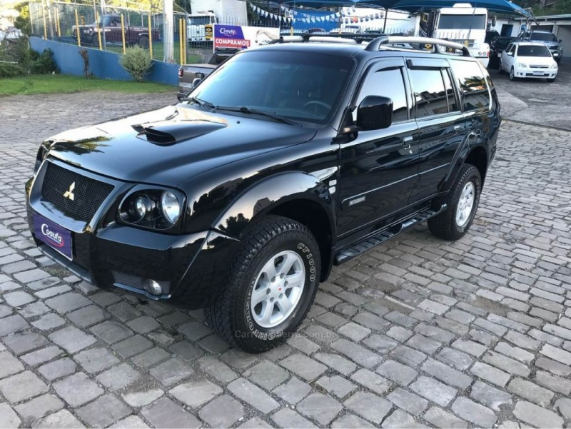 pajero sport 2.5 hpe 4x4 8v turbo intercooler diesel 4p manual 2008 farroupilha