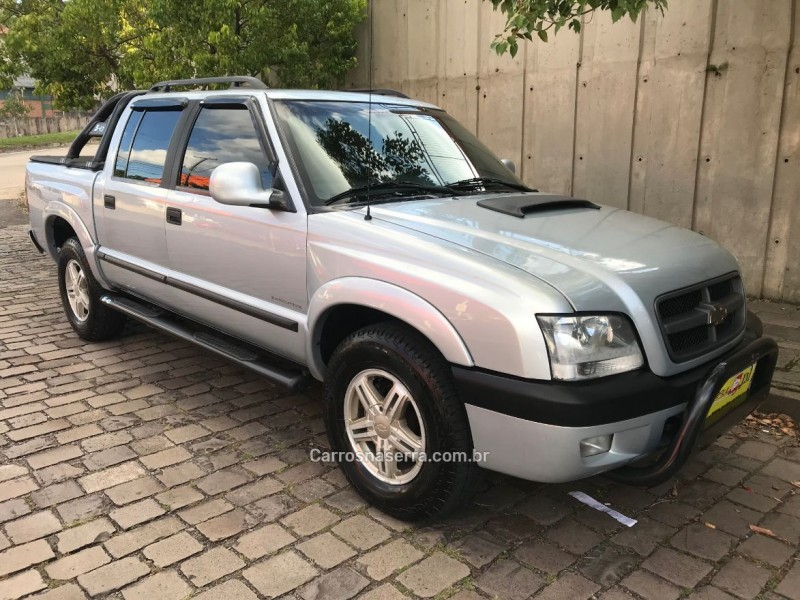 S10 2.8 EXECUTIVE 4X4 CD 12V TURBO ELECTRONIC INTERCOOLER DIESEL 4P MANUAL - 2006 - CAXIAS DO SUL