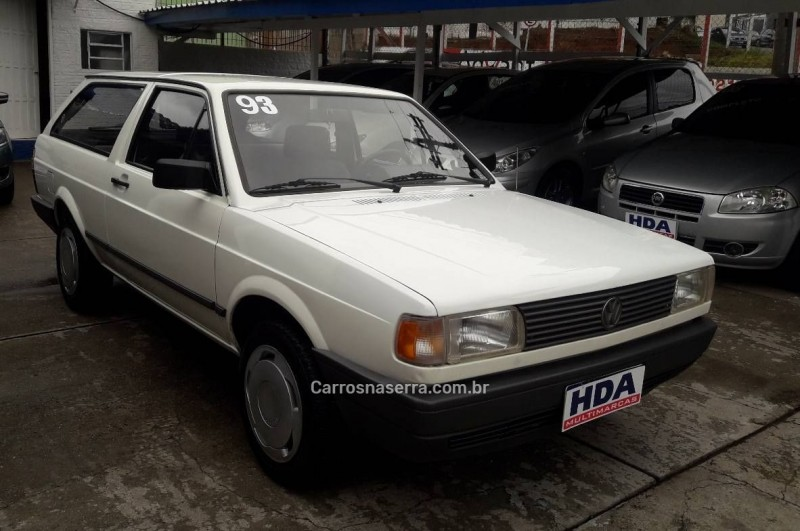 parati 1.6 cl 8v gasolina 2p manual 1993 caxias do sul