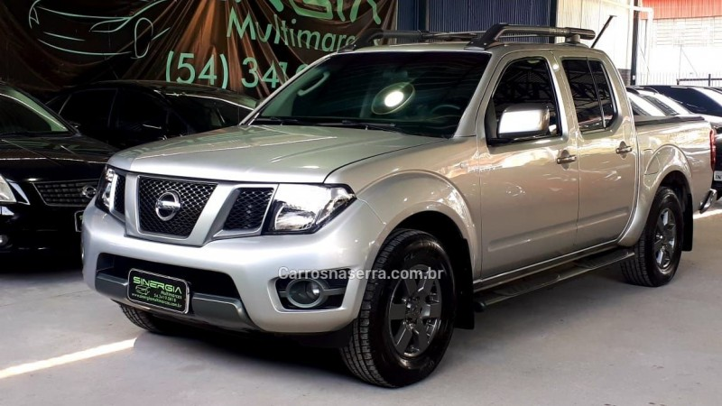 FRONTIER 2.5 SV ATTACK 4X2 CD TURBO ELETRONIC DIESEL 4P MANUAL - 2014 - CAXIAS DO SUL