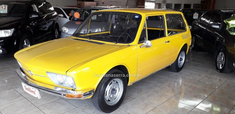 brasilia 1.6 8v gasolina 2p manual 1974 bento goncalves