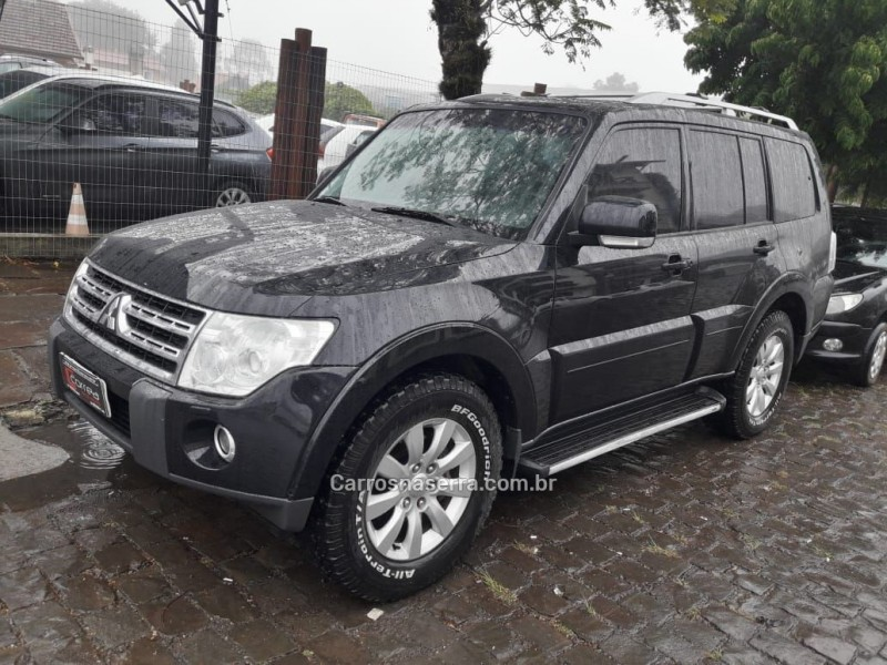 pajero full 3.2 hpe 4x4 16v diesel 4p automatico 2010 canela