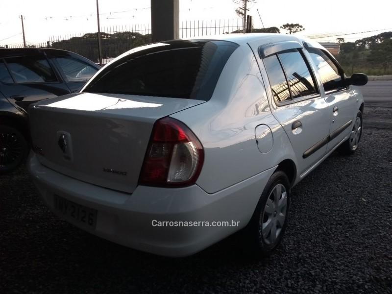 CLIO 1.0 AUTHENTIQUE SEDAN 16V FLEX 4P MANUAL - 2007 - CAXIAS DO SUL