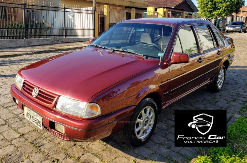 santana 2.0 gl 8v gasolina 4p manual 1996 caxias do sul