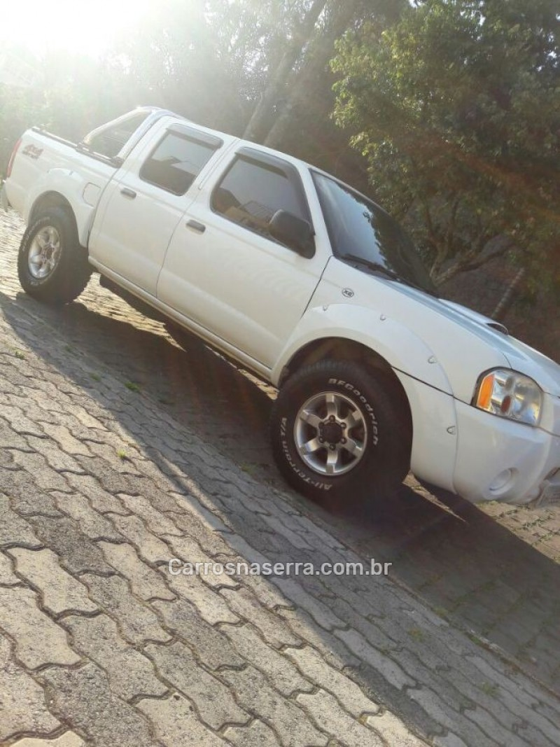 frontier 2.8 xe 4x4 cd turbo eletronic diesel 4p manual 2006 caxias do sul