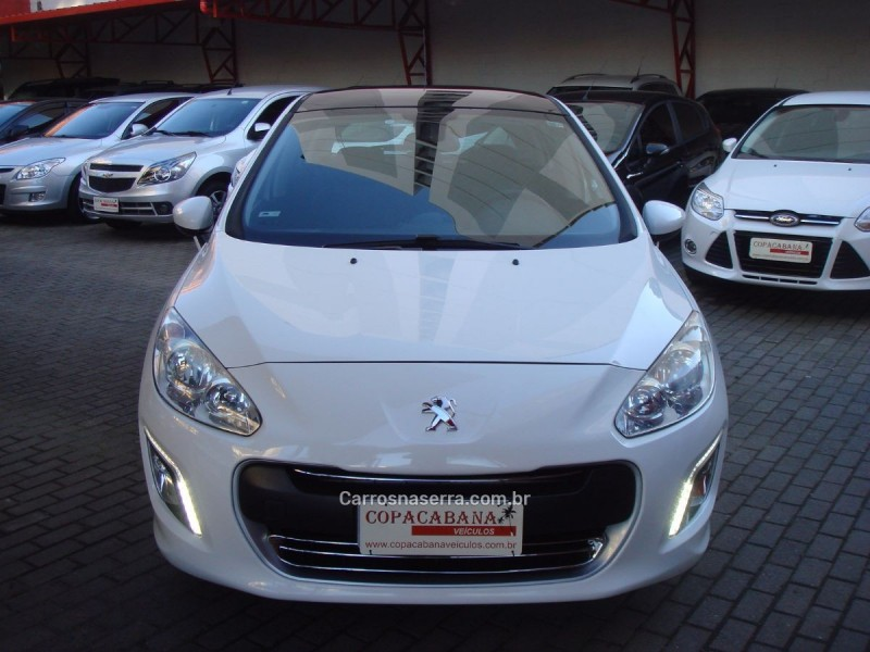 308 2.0 allure 16v flex 4p automa tico 2014 caxias do sul