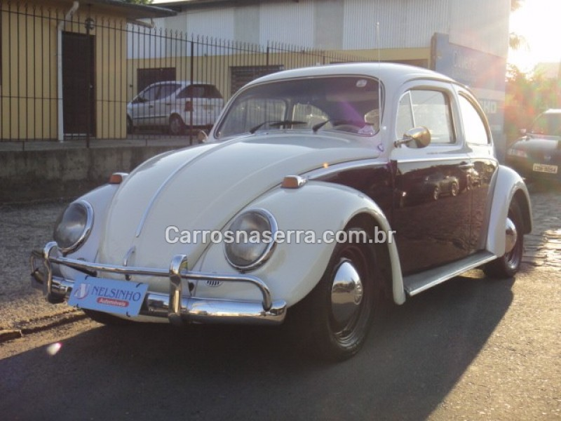 FUSCA 1.3 L 8V GASOLINA 2P MANUAL - 1968 - CAXIAS DO SUL