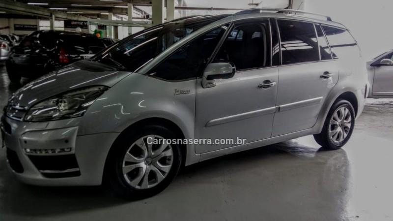 c4 grand picasso 2.0 16v gasolina 4p automatico 2012 caxias do sul