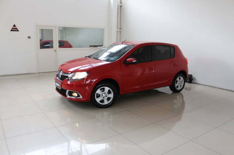 sandero 1.6 dynamique 8v flex 4p manual 2015 taquara