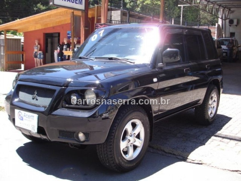 pajero tr4 2.0 4x4 16v 131cv gasolina 4p manual 2007 caxias do sul
