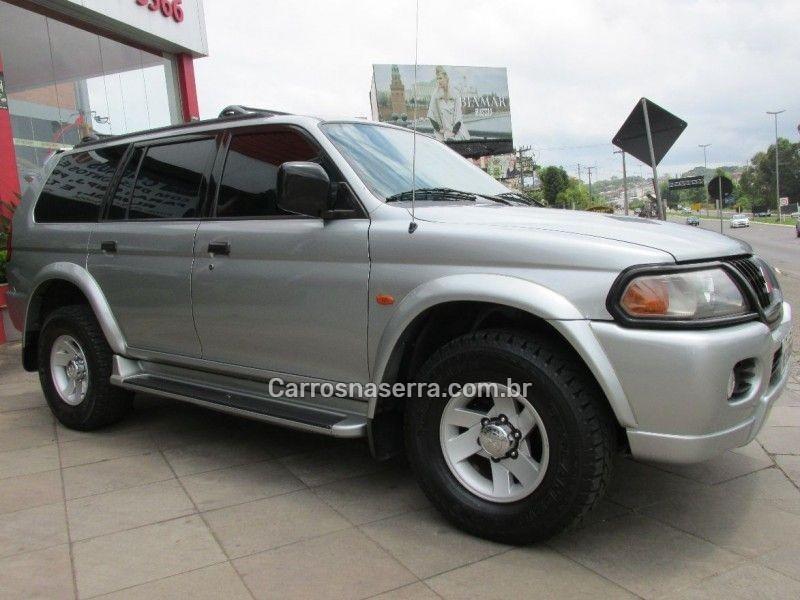 pajero sport 3.0 4x4 v6 24v gasolina 4p automatico 2001 bento goncalves