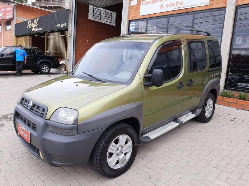 doblo 1.8 mpi adventure 8v gasolina 4p manual 2006 caxias do sul