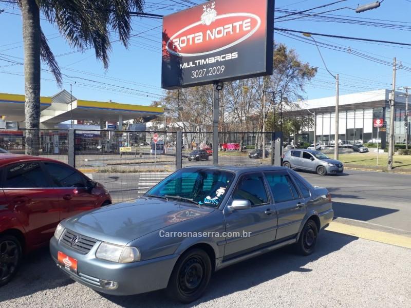 santana 2.0 mi comfortline 8v gasolina 4p manual 2000 caxias do sul