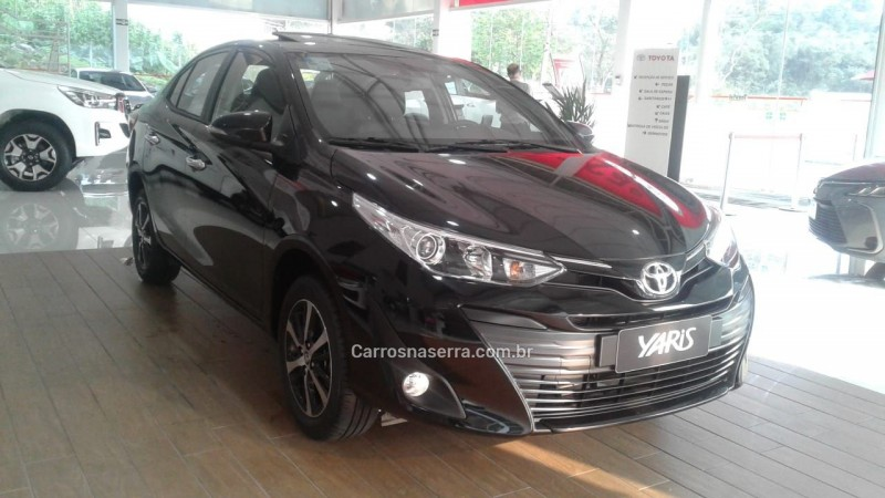 yaris 1.5 16v flex sedan xls multidrive8 2021 bento goncalves