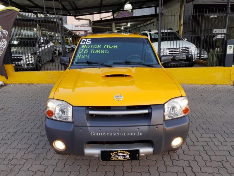 frontier 2.8 xe 4x4 cd turbo eletronic diesel 4p manual 2006 caxias do sul