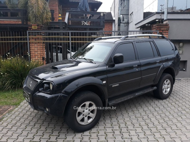 pajero 2.5 hd 4x4 8v turbo intercooler diesel 4p manual 2008 caxias do sul