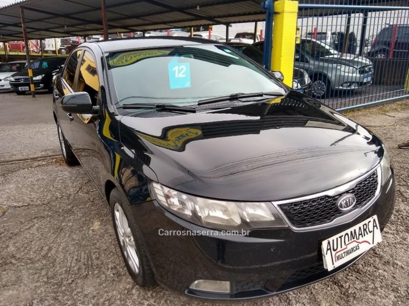 cerato 1.6 e.273 sedan 16v gasolina 4p manual 2012 caxias do sul