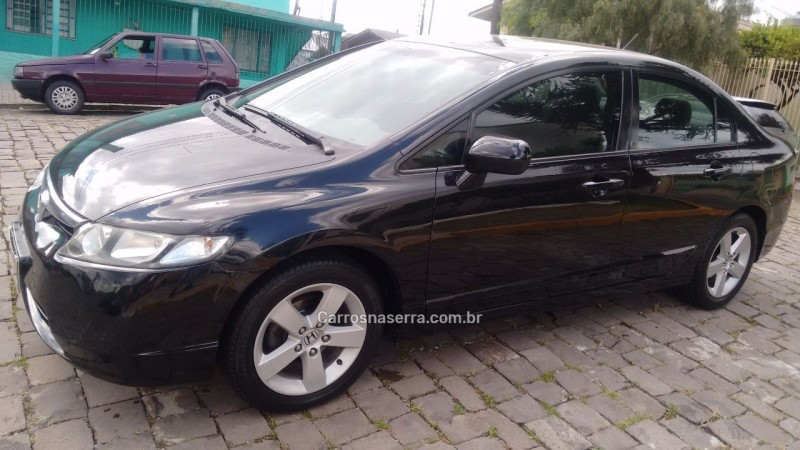 civic 1.8 lxs 16v gasolina 4p manual 2007 caxias do sul
