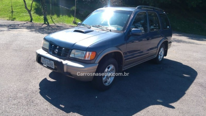 sportage 2.2 dlx 4x4 diesel 4p manual 2001 farroupilha