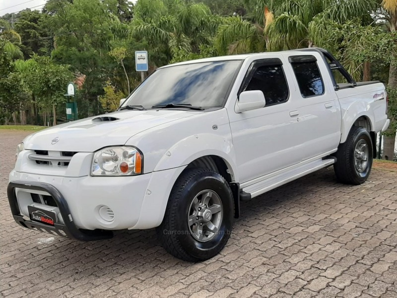 frontier 2.8 xe 4x2 cd turbo eletronic diesel 4p manual 2005 caxias do sul