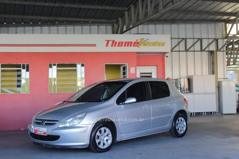307 1.6 presence 16v gasolina 4p manual 2004 caxias do sul