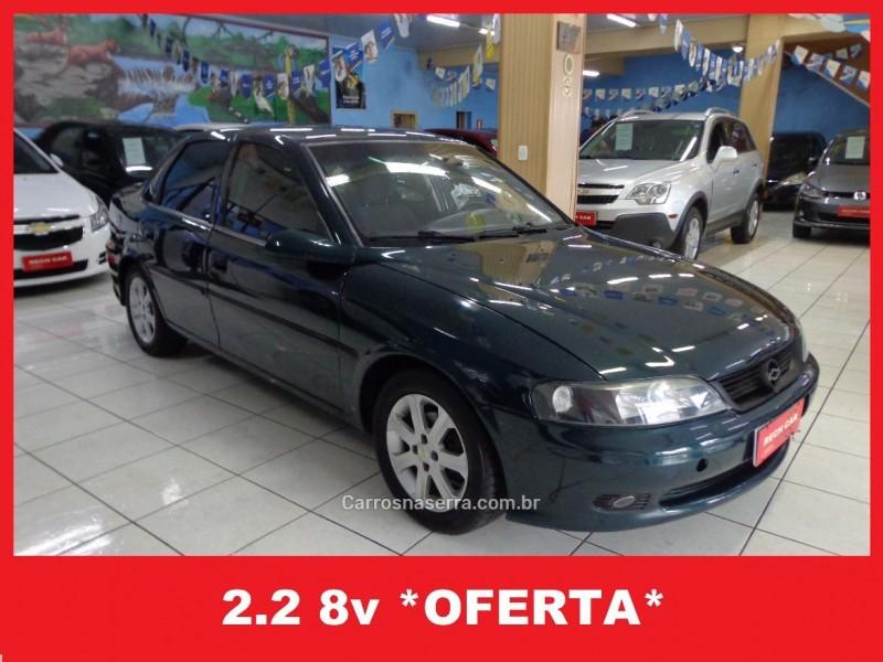 vectra 2.2 mpfi gl 8v gasolina 4p manual 2001 caxias do sul