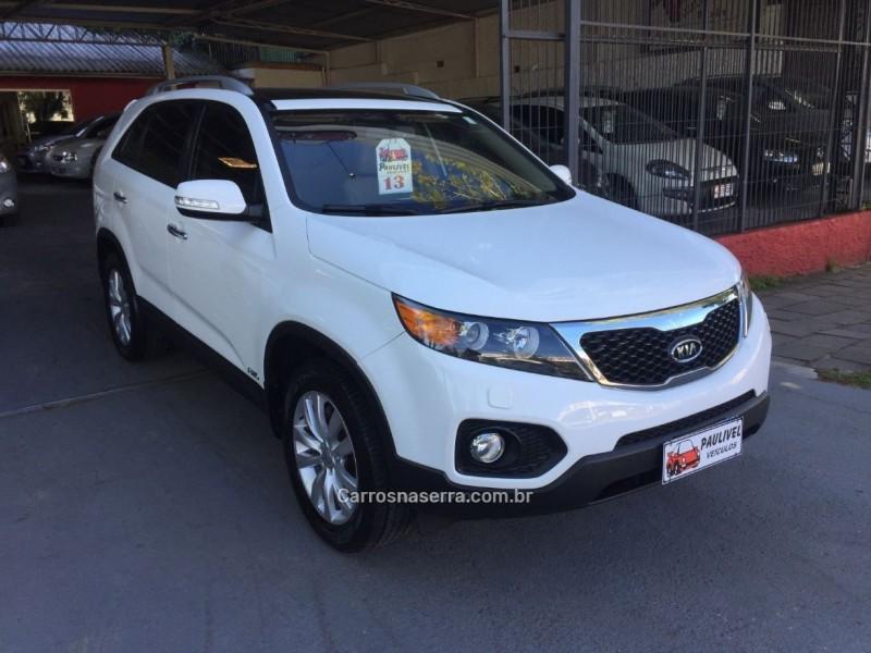 sorento 3.5 4x4 v6 24v gasolina 4p automatico 2013 caxias do sul