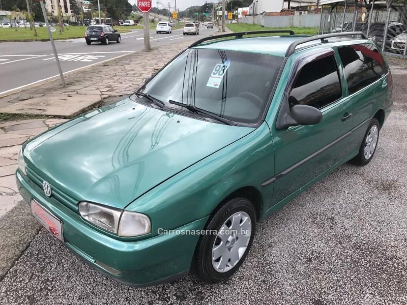 parati 1.8 mi club 8v gasolina 2p manual 1998 caxias do sul