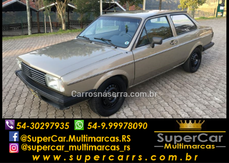 voyage 1.8 plus 8v gasolina 2p manual 1986 caxias do sul