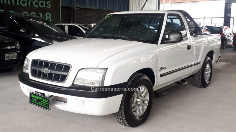 s10 2.8 4x4 cs 12v turbo intercooler diesel 2p manual 2003 caxias do sul