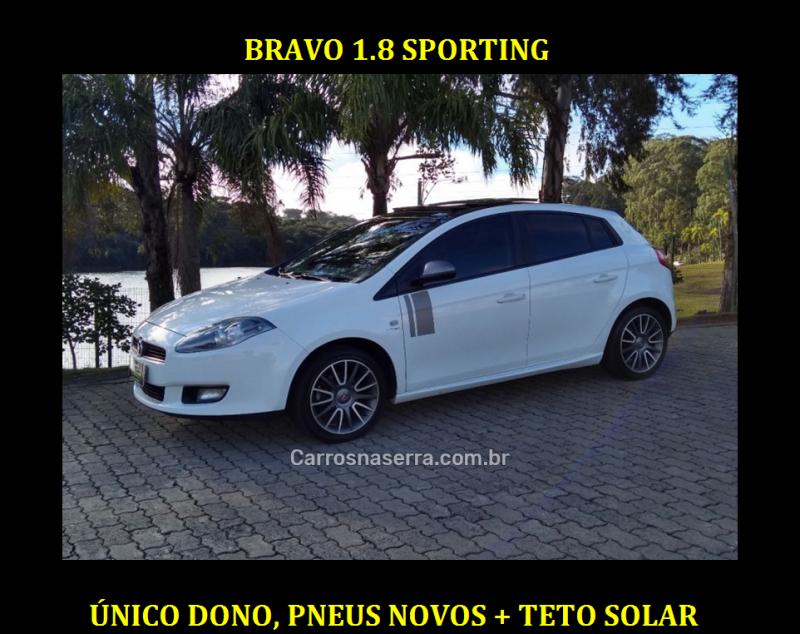 bravo 1.8 sporting 16v flex 4p automatizado 2013 caxias do sul