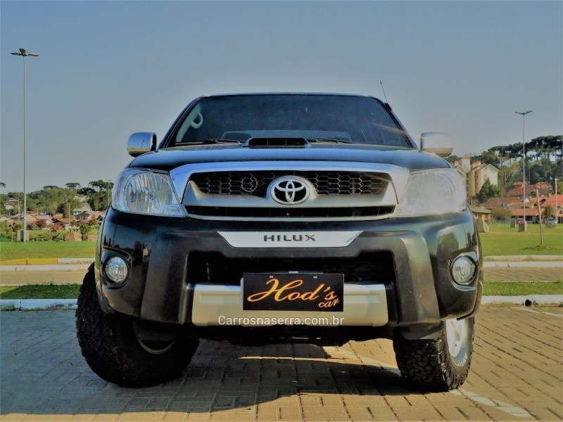 hilux 3.0 srv 4x4 cd 16v turbo intercooler diesel 4p automatico 2011 canela
