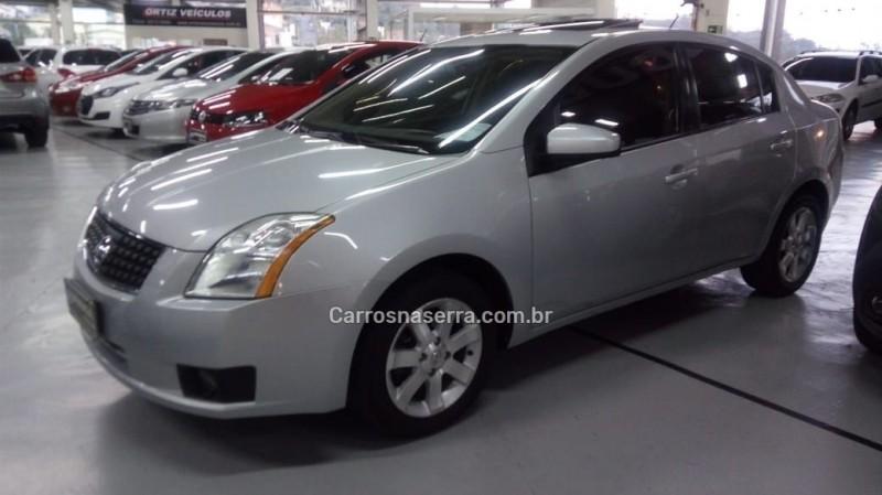 sentra 2.0 sl 16v gasolina 4p automatico 2008 caxias do sul