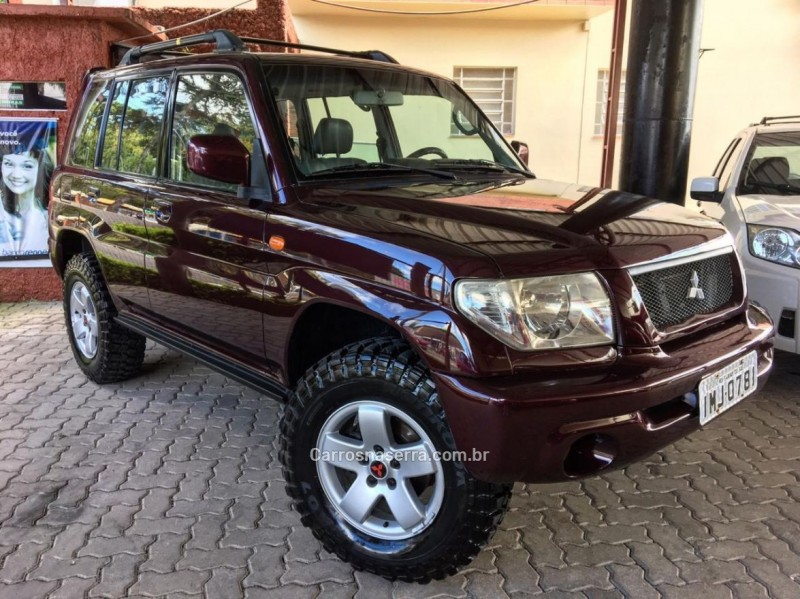 pajero tr4 2.0 4x4 16v 131cv gasolina 4p manual 2005 caxias do sul