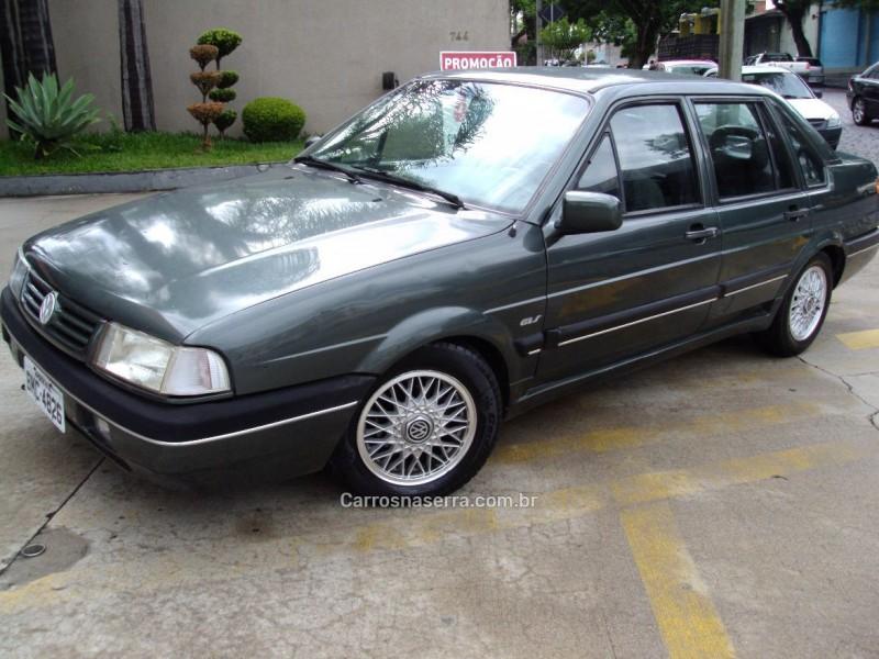 santana 2.0 gls 8v gasolina 4p automatico 1992 caxias do sul