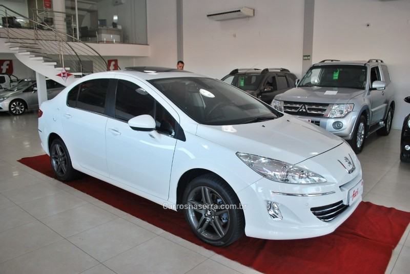 308 2.0 allure 16v flex 4p manual 2013 santa cruz do sul