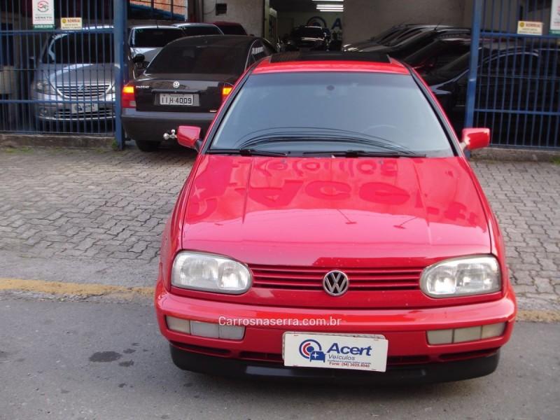 golf 2.0 mi glx 8v gasolina 4p manual 1998 caxias do sul