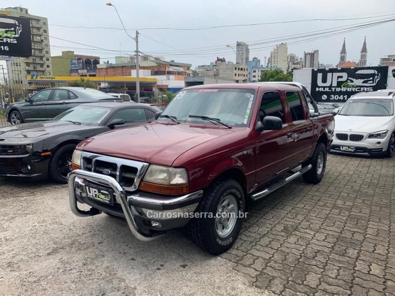 ranger 2.5 xlt 4x4 cd 8v turbo intercooler diesel 4p manual 1999 caxias do sul