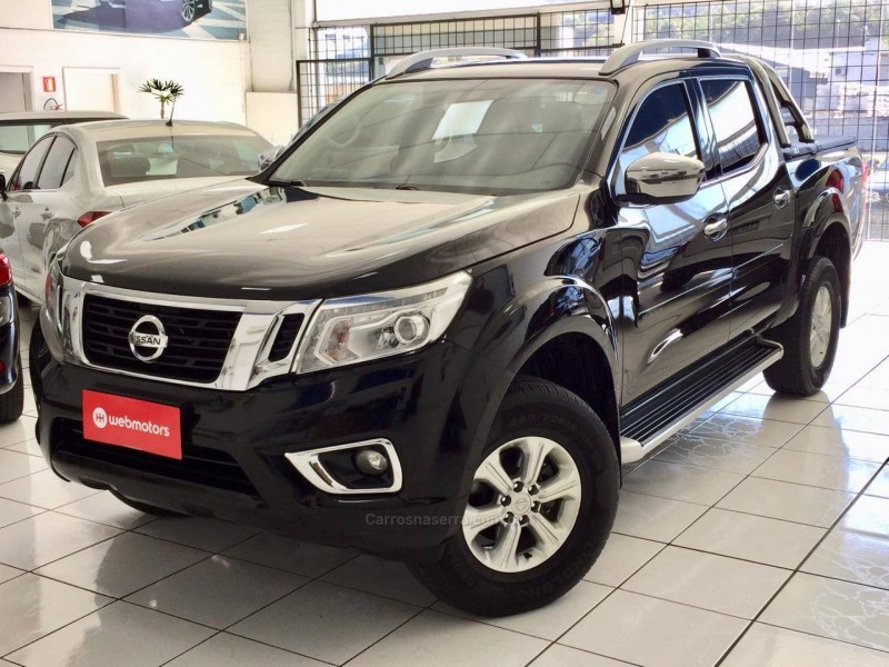 frontier 2.3 le 4x4 cd bi turbo diesel 4p automatico 2017 caxias do sul