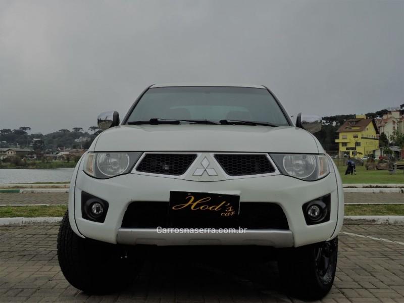 l200 triton 3.5 hpe 4x4 cd v6 24v flex 4p automatico 2012 canela
