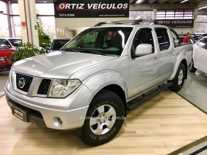 frontier 2.5 xe 4x4 cd turbo eletronic diesel 4p manual 2009 caxias do sul