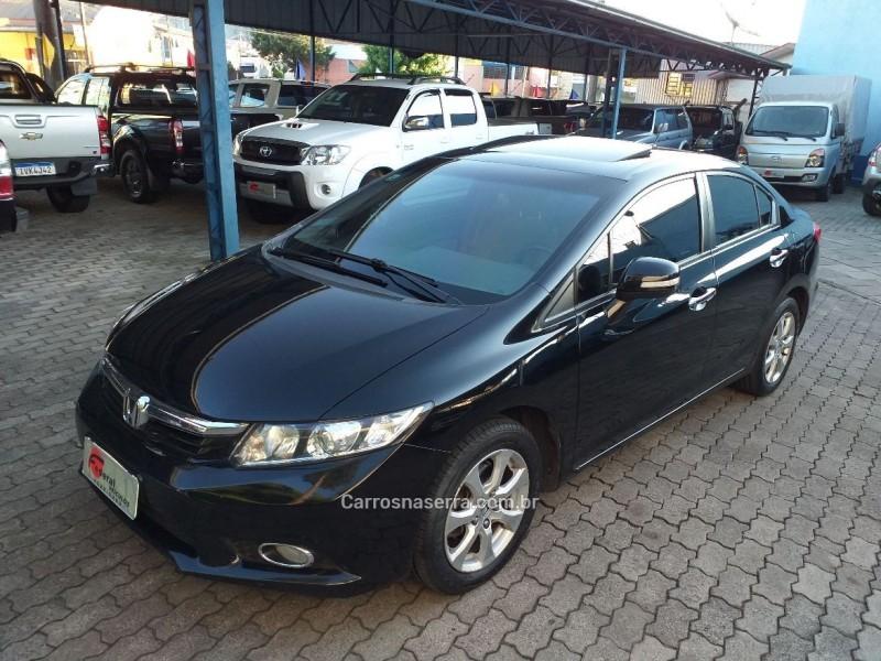 civic 1.8 exs 16v gasolina 4p automatico 2012 caxias do sul