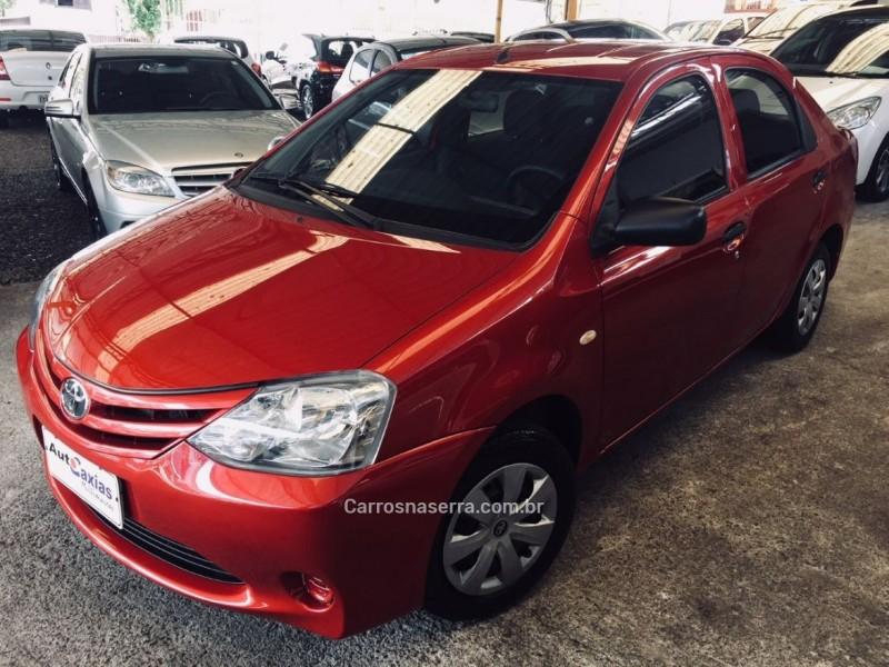 etios 1.5 x sedan 16v flex 4p manual 2013 caxias do sul
