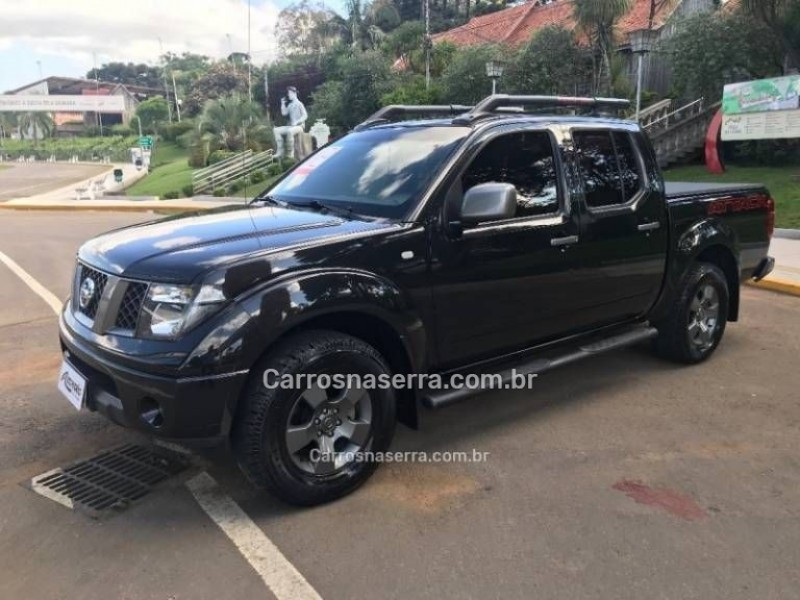 frontier 2.5 se attack 4x4 cd turbo eletronic diesel 4p manual 2012 caxias do sul