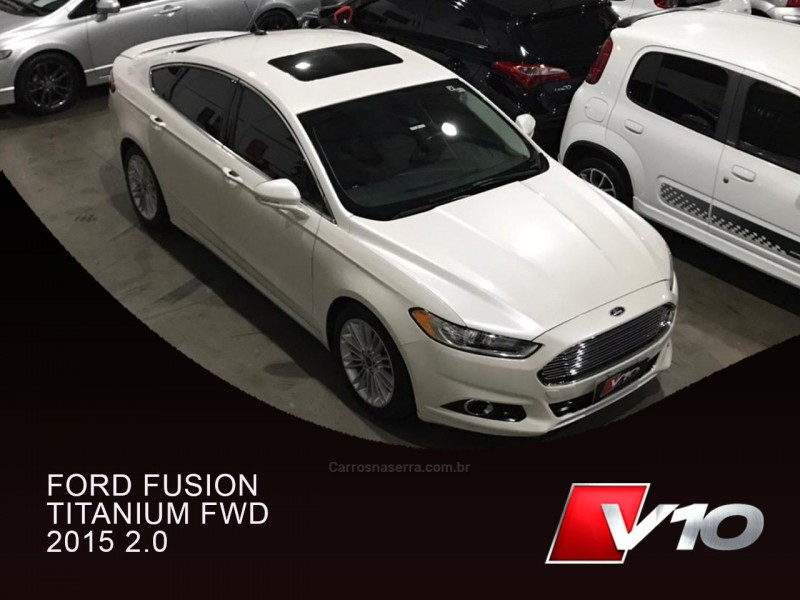 fusion 2.0 titanium fwd 16v gasolina 4p automatico 2015 caxias do sul