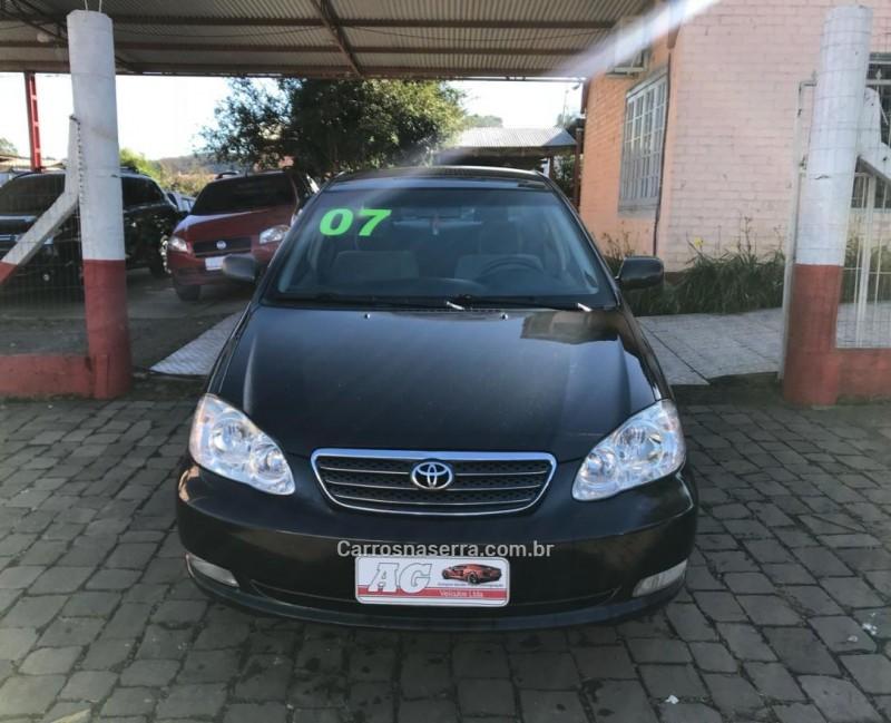 corolla 1.8 xei 16v gasolina 4p manual 2007 casca